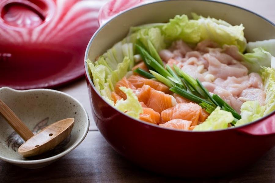 豆乳味噌海陸土手鍋