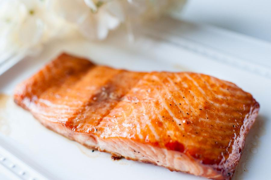 焦糖烤鮭魚