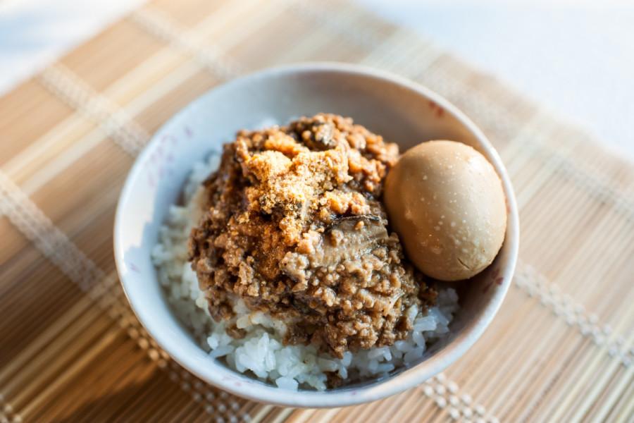 香菇肉燥 滷蛋
