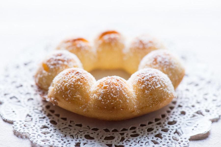 蜂蜜花圈小蛋糕
