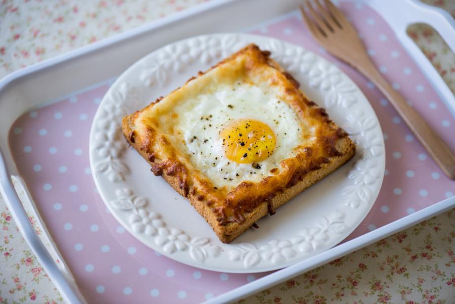 公雞太太焗蛋三明治