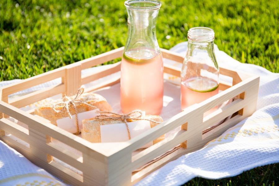 粉紅蜂蜜檸檬茶