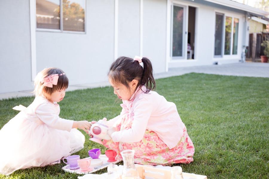 小朋友野餐 扮家家酒