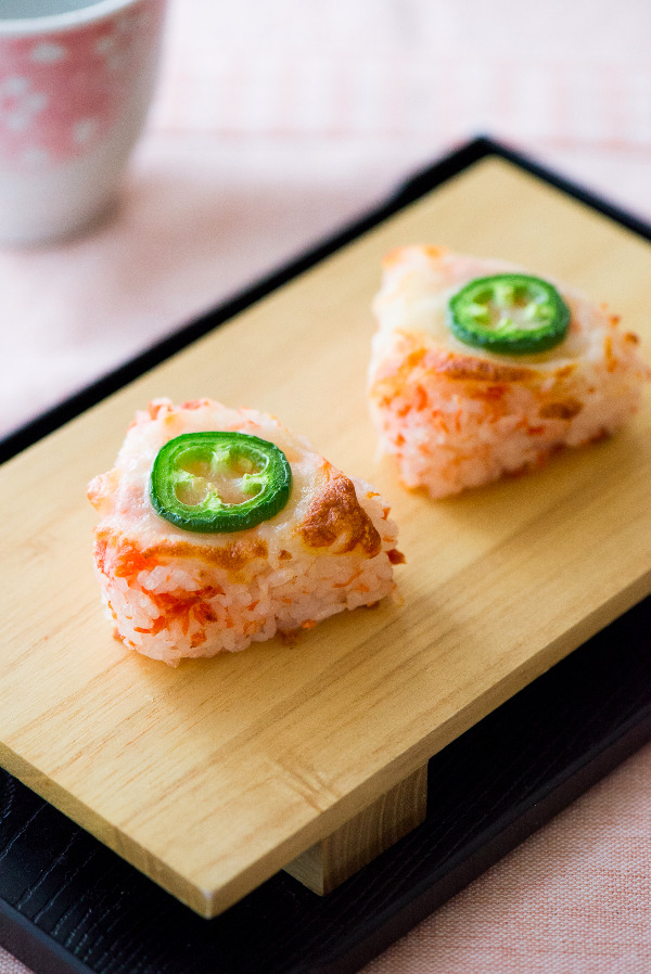 焗烤起司鮭魚飯糰