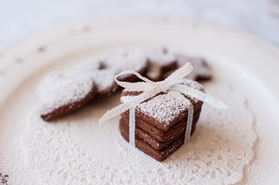 簡易巧克力愛心餅乾