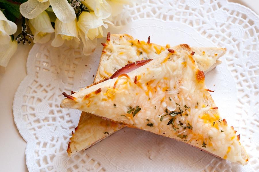 法式乳酪火腿三明治