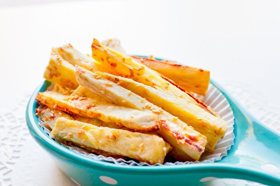 黃金芝麻地瓜薯條