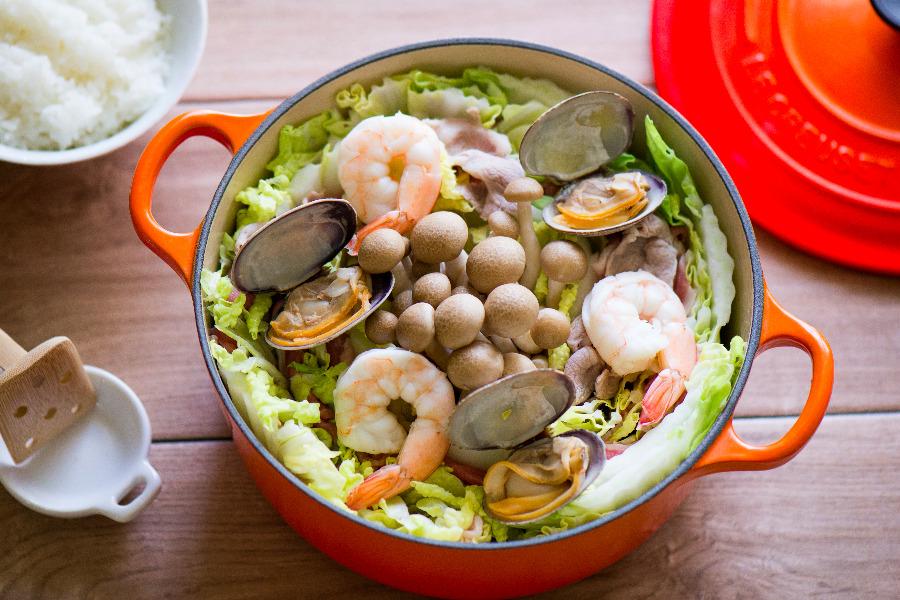海鮮蔬菜無水鍋