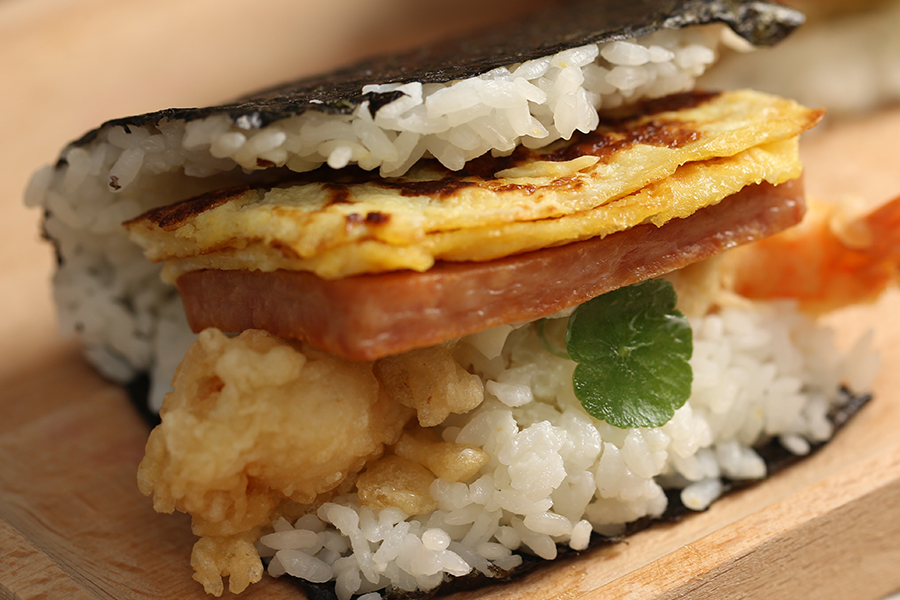 野餐,飯糰,日式,炸蝦,天婦羅