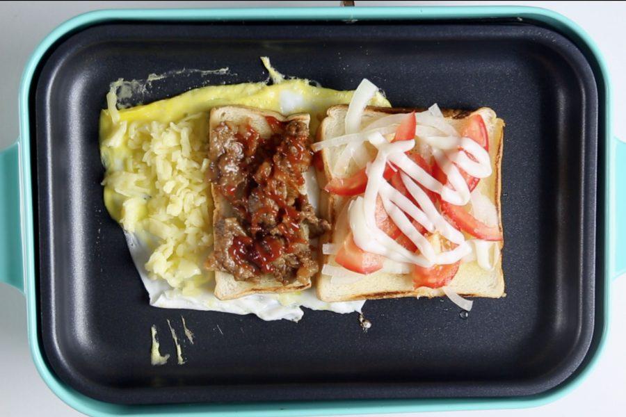 鐵板吐司,下午茶,韓式,熱門,街頭小吃