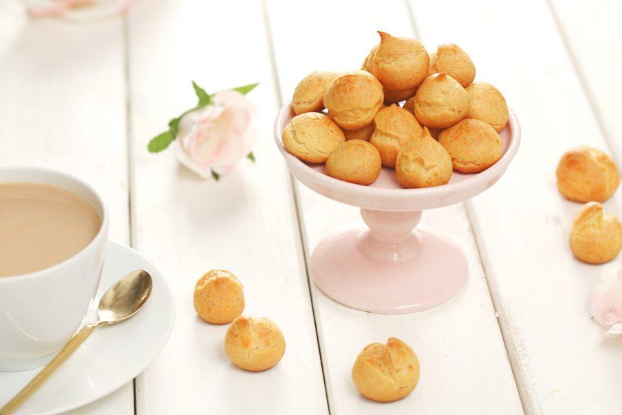 義美小泡芙,甜點,烘焙,復刻,零嘴