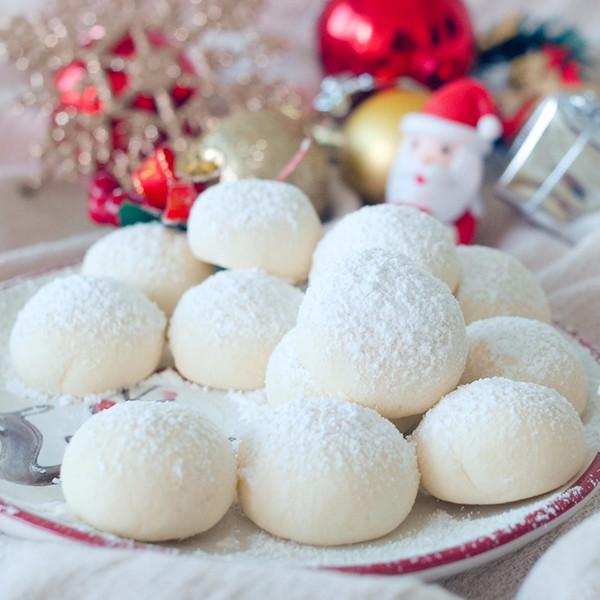 【Mrs P's Kitchen】4種材料好簡單~雪球餅乾