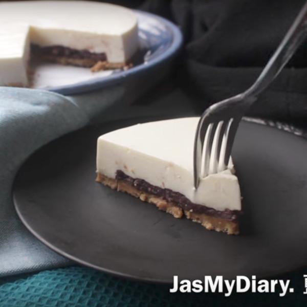 【藍帶階級 jas my diary.】紅豆煉乳生乳酪蛋糕