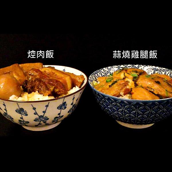 【蘋果愛料理】焢肉飯vs. 蒜燒雞腿飯,今晚你要哪一道?