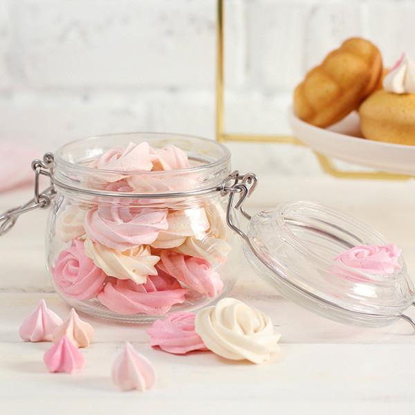 吃一口少女心爆發~夢幻系甜點【玫瑰馬林糖】