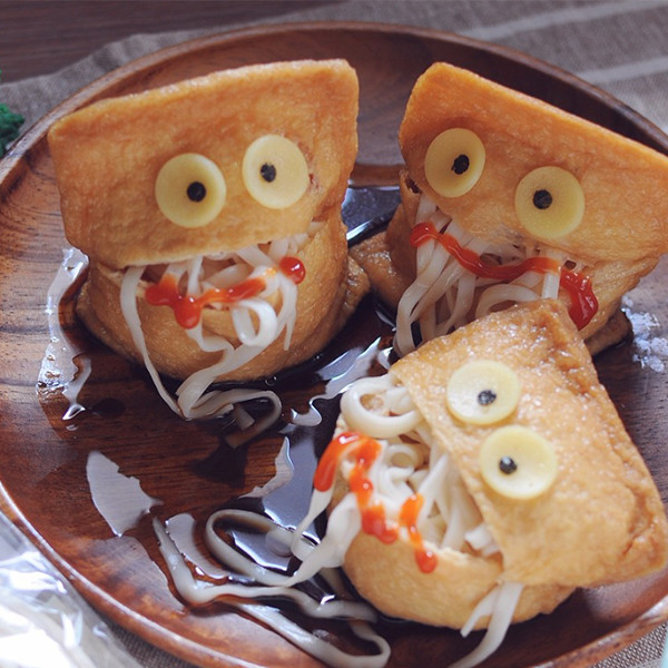 【kitb】萬聖節創意造型麵條~稻荷之鬼