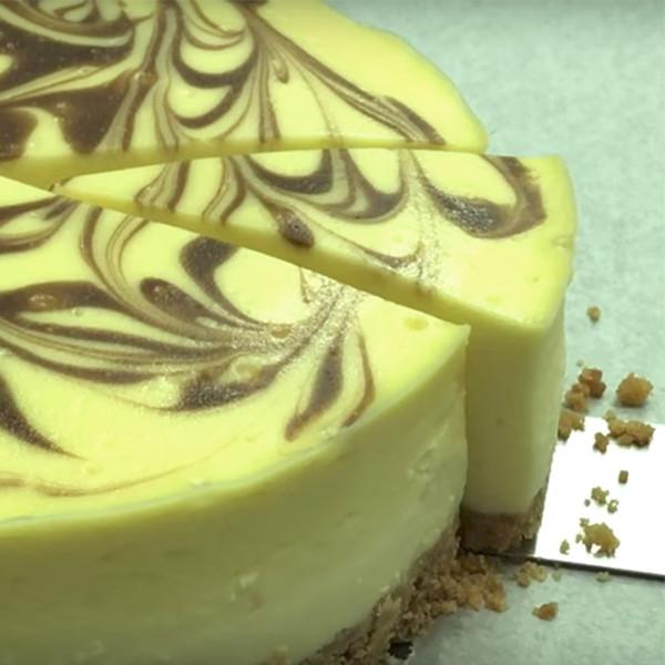 【Vita Dolce甜蜜生活手作甜點】大理石紋重乳酪蛋糕