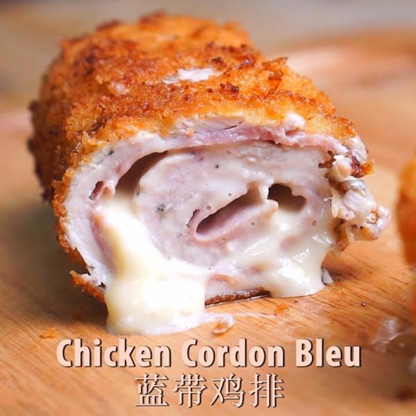 【Lauren's Kitchen】起司爆漿美味~藍帶雞排