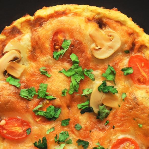【HappeaBites】花椰菜披薩 健康無麵粉