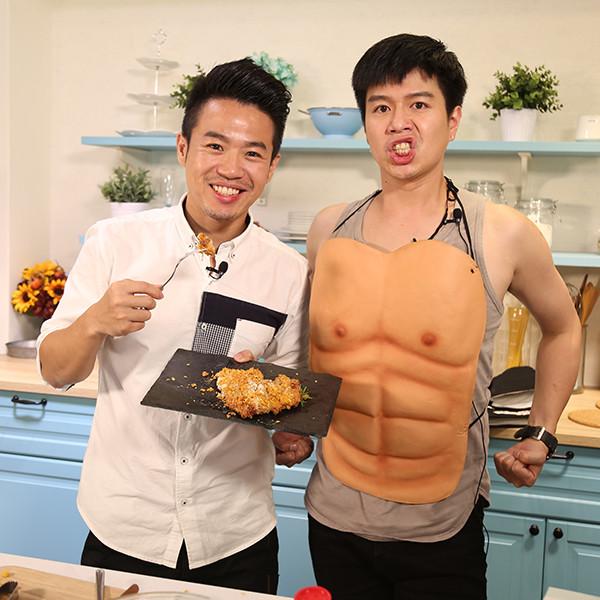 【一秒變大廚】一休+李易 肥肉Out! 減脂料理大公開