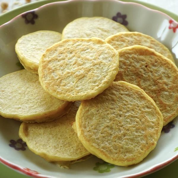 【K力's 幸福芳程式】燕麥黃豆煎餅(七個月以上寶寶適用)