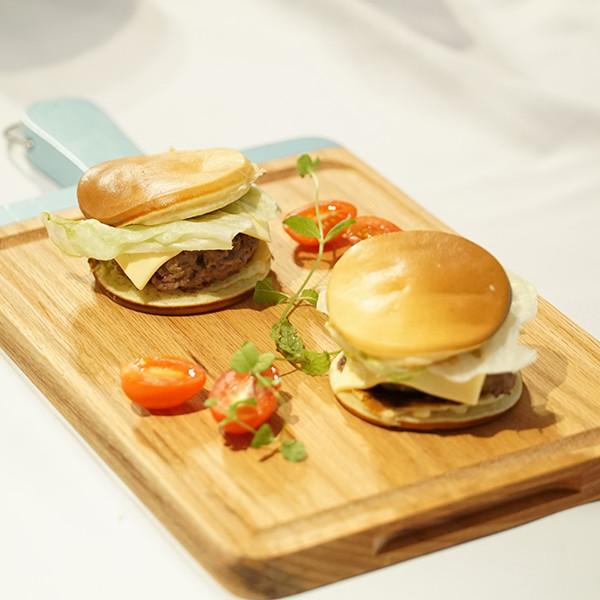 【選物愛分享】一鍋早餐好方便~牛肉鬆餅漢堡輕鬆做