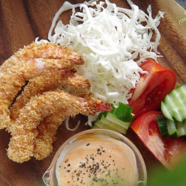 【饗瘦美味】無油煙超低卡~烤箱版日式炸蝦