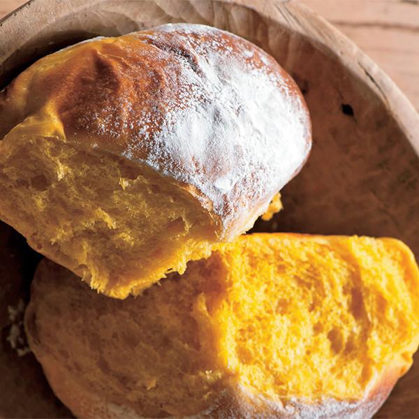 用鑄鐵鍋做【胡蘿蔔麵包】一鍋搞定手作麵包