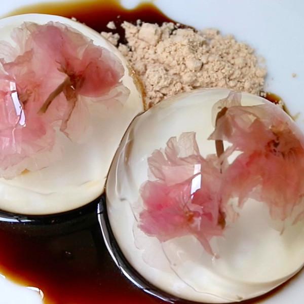 【廚房一隻柴】經典和菓子~櫻花水信玄餅