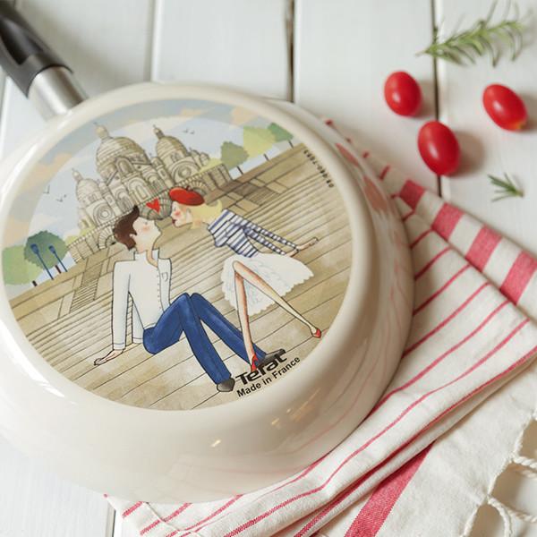【好物分享】法國琺瑯彩繪不沾鍋,吃到最美好的滋味!