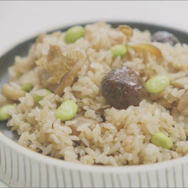 【家政煮廚金基師】栗子燒雞炊飯
