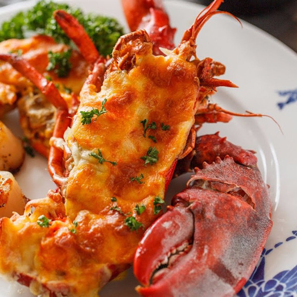 【男人廚房1+1】起司焗龍蝦與香煎干貝