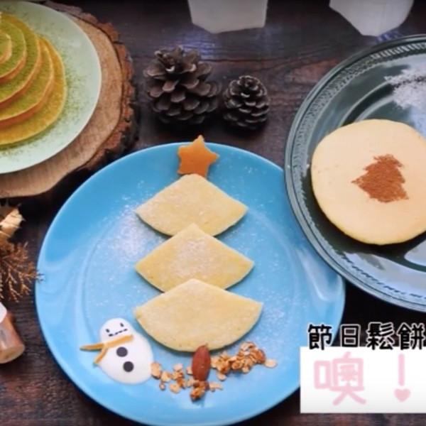 【kitb】層層疊疊少女心~聖誕樹鬆餅x3款