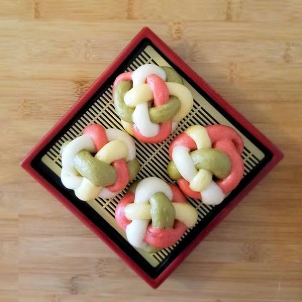 【飪意 Yummie】華麗饗宴~四色繡球饅頭