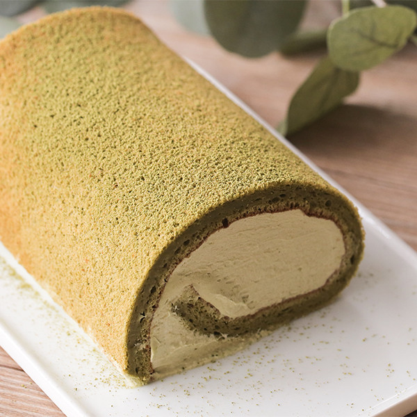 人氣網購美食在家做~鬆餅粉做香濃苦甜【抹茶生乳卷】