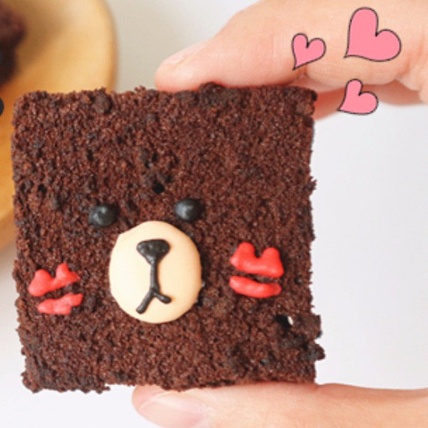 【Two Bites】低卡熊大布朗尼蛋糕