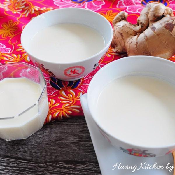 【Huang Kitchen 黃廚房】冬日溫暖甜品~薑汁撞奶