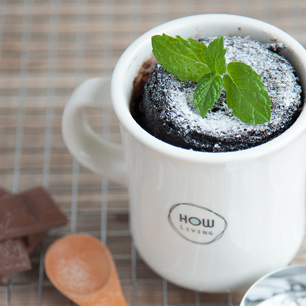 幸福獨享下午茶~【巧克力熔岩蛋糕】