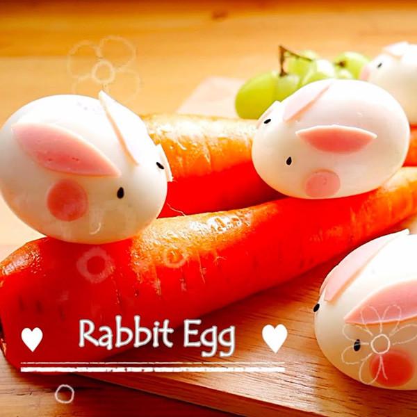 【上田太太】20秒學會小兔兔雞蛋