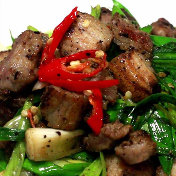 【匠弄】有這道能吃三碗飯~超下飯的「自製鹹豬肉」