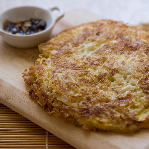 美味人妻年菜系列──黃金麻油麵線煎