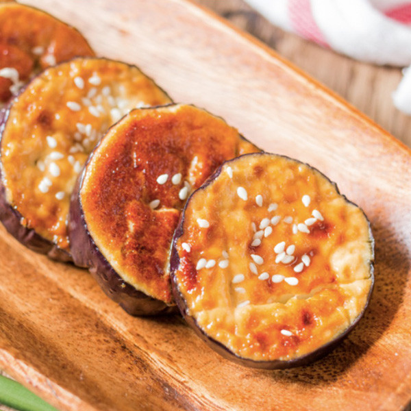 【成波之路】味噌蛋黃醬烤茄子