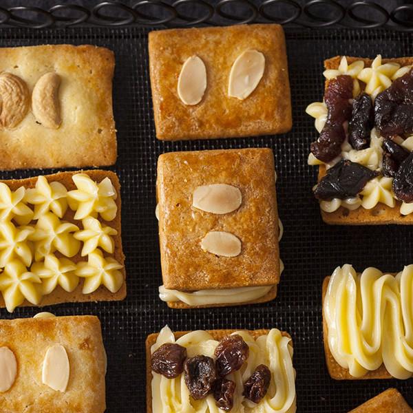 北海道名店餅乾【蘭姆葡萄夾心餅乾】自己做