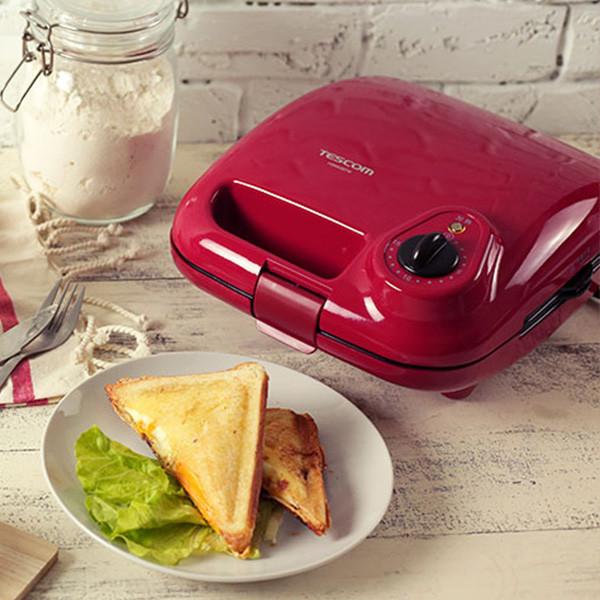 【好物分享】三合一多功能鬆餅機,紅吱吱經典登場