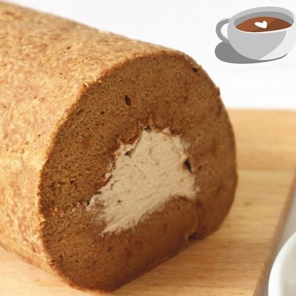 【Two Bites】微苦大人味~咖啡蛋糕卷