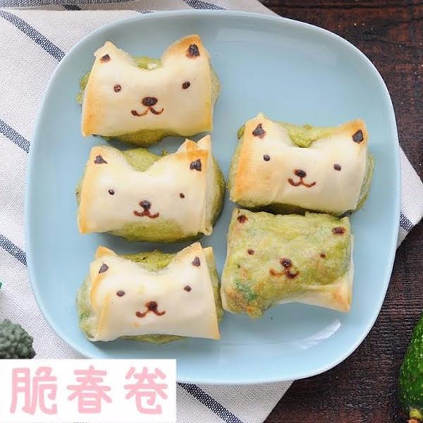 【kitb】汪汪造型~酪梨起司脆春卷