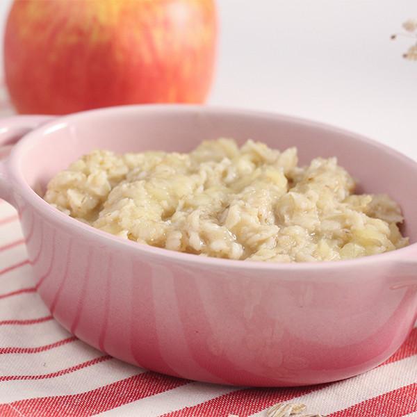 【副食品教學】酸甜綿密好入口~1歲寶寶最愛的蘋果燕麥粥