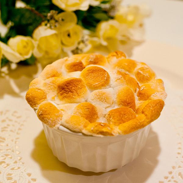 雲朵般的夢幻滋味──烤棉花糖金黃薯泥