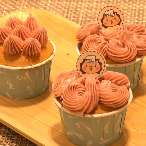 【烘焙工程獅的甜點廚房】百香海綿杯子蛋糕
