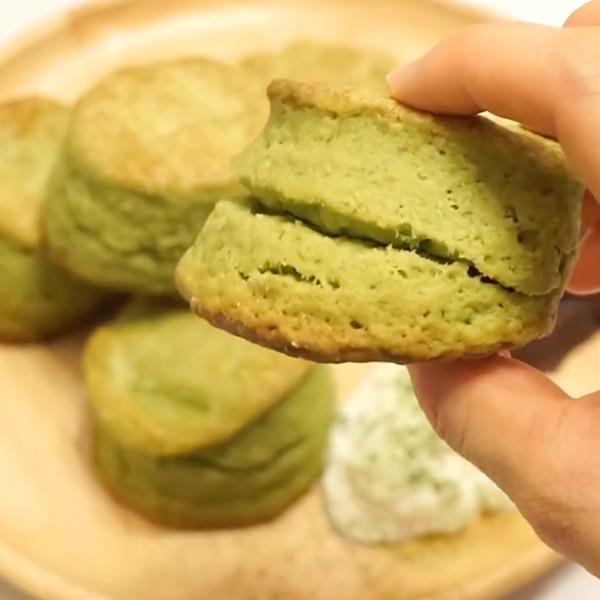 【小煮婦littlewife】抹茶鬆餅司康scone